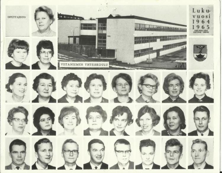 Viikoulu opettajat 1964 kuva